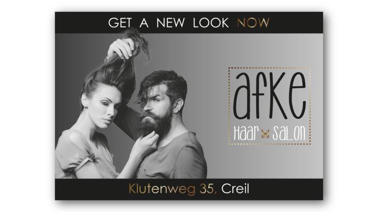 Flyer Afke Haar Salon