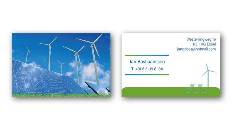 Visitekaartje Jan Bastiaanssen