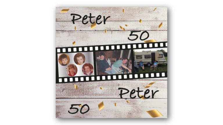 Kaart Peter en Peter