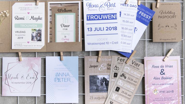 Iselle Design Trouwkaarten